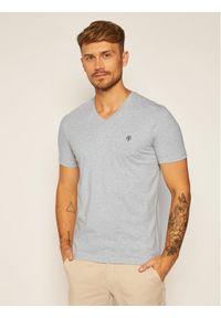 Marc O'Polo T-Shirt B21 2220 51018 Szary Shaped Fit. Typ kołnierza: polo. Kolor: szary