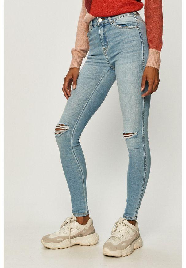 Niebieskie jeansy Dr. Denim