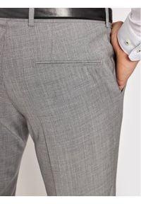 Oscar Jacobson Spodnie garniturowe Damien 537 8515 Szary Slim Fit. Kolor: szary