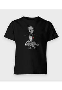 MegaKoszulki - Koszulka dziecięca Man with a cat. Materiał: bawełna