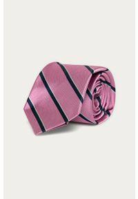 Różowy krawat Polo Ralph Lauren