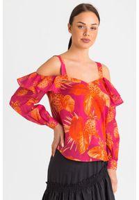 Bluzka TwinSet w kolorowe wzory