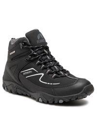 Czarne buty trekkingowe Elbrus trekkingowe