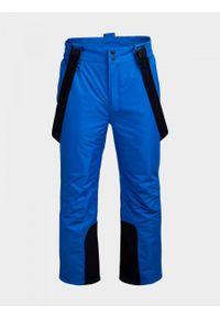 outhorn - Spodnie narciarskie męskie. Materiał: materiał, poliester. Sezon: zima. Sport: narciarstwo