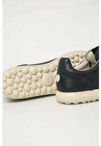Niebieskie sneakersy Camper na sznurówki, z cholewką, z okrągłym noskiem