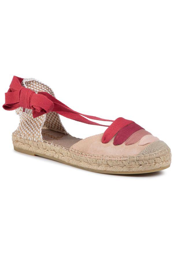 Beżowe sandały Vidorreta na co dzień, casualowe