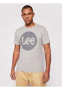 Lee T-Shirt Circle L64EFQ37 Szary Regular Fit. Kolor: szary