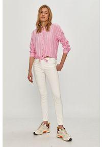Calvin Klein Jeans - Jeansy. Kolor: biały