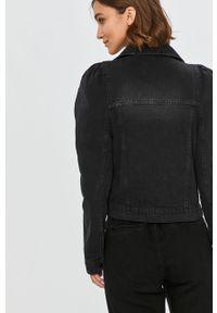 Czarna kurtka Answear Lab na co dzień, wakacyjna