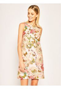 Różowa sukienka letnia Cavalli Class