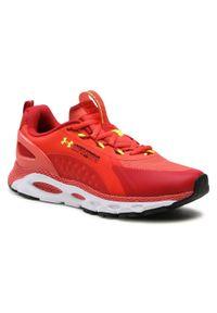 Czerwone buty do biegania Under Armour z cholewką