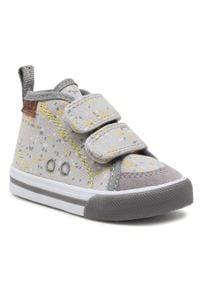 Reima - Sneakersy REIMA - Huvitus 569335 Light Grey 9141. Kolor: szary. Materiał: materiał. Szerokość cholewki: normalna. Sezon: zima