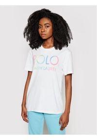 Polo Ralph Lauren T-Shirt 211838144001 Biały Regular Fit. Typ kołnierza: polo. Kolor: biały