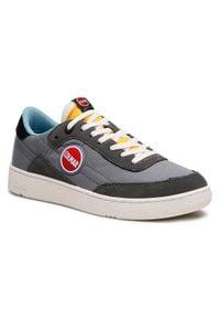 Colmar - Sneakersy COLMAR - Foley Ring 060 Gray/Yellow/Lt Blue. Kolor: szary. Materiał: skóra ekologiczna, materiał, zamsz. Szerokość cholewki: normalna