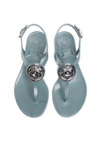 Niebieskie sandały Guess na co dzień, casualowe
