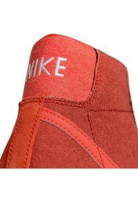 Nike Buty Blazer Mid '77 Vntg Suede Mix Pomarańczowy. Kolor: pomarańczowy