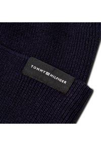 Niebieska czapka zimowa TOMMY HILFIGER