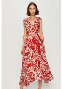 TwinSet - Twinset - Sukienka. Materiał: tkanina