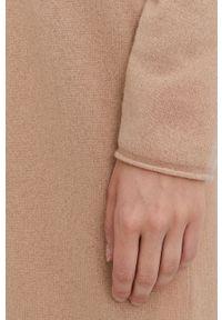 Marella - Kardigan. Okazja: na co dzień. Kolor: beżowy. Długość rękawa: długi rękaw. Długość: długie. Styl: casual