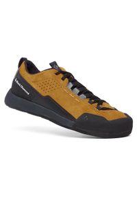Buty trekkingowe męskie Black Diamond Technician Leather 580022. Materiał: zamsz, skóra, guma. Szerokość cholewki: normalna. Sport: wspinaczka