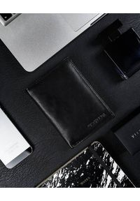 4U CAVALDI - Portfel męski czarny Cavaldi N4-SCR-CAVALDI BLACK. Kolor: czarny. Materiał: skóra