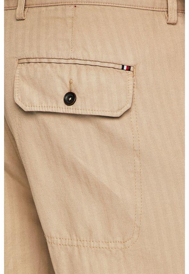 Beżowe spodnie Tommy Hilfiger Tailored