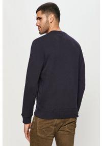 Pepe Jeans - Bluza bawełniana Harold. Okazja: na co dzień. Kolor: niebieski. Materiał: bawełna. Styl: casual