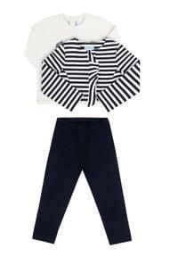 Mayoral Komplet bolerko, bluzka i legginsy 2745 Kolorowy Regular Fit. Wzór: kolorowy
