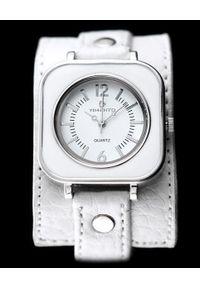 NoName - Zegarek ZEGAREK DAMSKI TIMENTO - PODKŁADKA - biały (zx590a). Kolor: biały