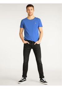 Lee Jeansy Slim Fit Luke L719IZHL Czarny Slim Fit. Kolor: czarny. Materiał: jeans, bawełna, poliester, elastan