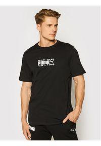 Puma T-Shirt International 599804 Czarny Regular Fit. Kolor: czarny