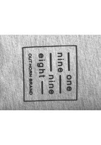 outhorn - Longsleeve męski. Materiał: jersey, bawełna, dzianina, elastan, poliester. Długość rękawa: długi rękaw