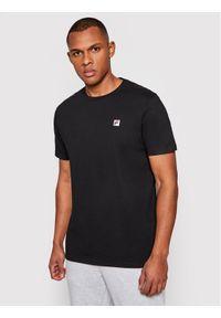 Fila T-Shirt Samuru 688567 Czarny Regular Fit. Kolor: czarny
