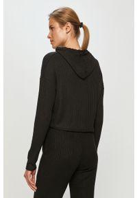 Czarna bluza Haily's długa, z kapturem
