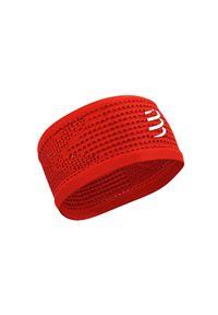 Czerwona czapka Compressport sportowa