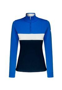 Niebieski sweter Descente sportowy