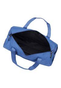 Niebieska torba podróżna Wittchen elegancka