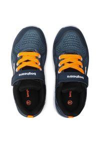 Bagheera - Buty BAGHEERA - Dynamo 86485-2 C2662 Navy/Orange. Okazja: na co dzień. Zapięcie: rzepy. Kolor: niebieski. Materiał: materiał. Szerokość cholewki: normalna. Styl: casual