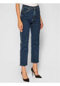 Wrangler Jeansy Straight Fit Wild West W2H2D222Z Granatowy Straight Fit. Kolor: niebieski. Materiał: jeans