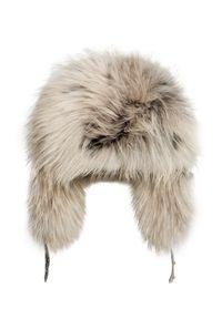Srebrna czapka Gena glamour, na zimę