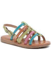 Sandały Geox w kolorowe wzory