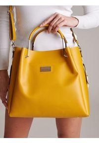 Żółta torebka Badura