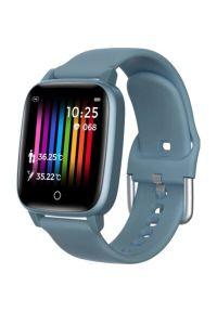 Niebieski zegarek Bemi smartwatch, sportowy