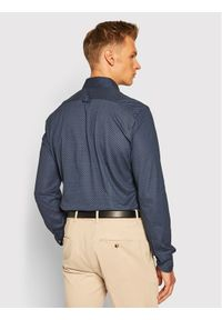 Baldessarini Koszula 11001/0014 Granatowy Regular Fit. Kolor: niebieski