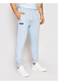 Ellesse Spodnie dresowe Campleanno SHJ11922 Niebieski Regular Fit. Kolor: niebieski. Materiał: dresówka