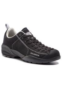 Czarne buty trekkingowe Scarpa trekkingowe, z cholewką