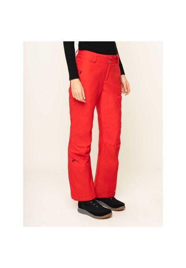 Czerwone spodnie narciarskie columbia
