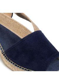 Niebieskie sandały Toni Pons na co dzień, casualowe, na średnim obcasie