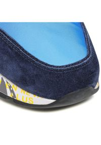 Premiata Sneakersy Lander 5198 Niebieski. Kolor: niebieski