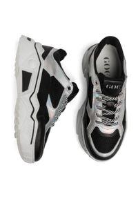 Czarne buty sportowe GOE z cholewką, na co dzień